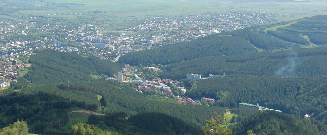 панорама с горы Церковка