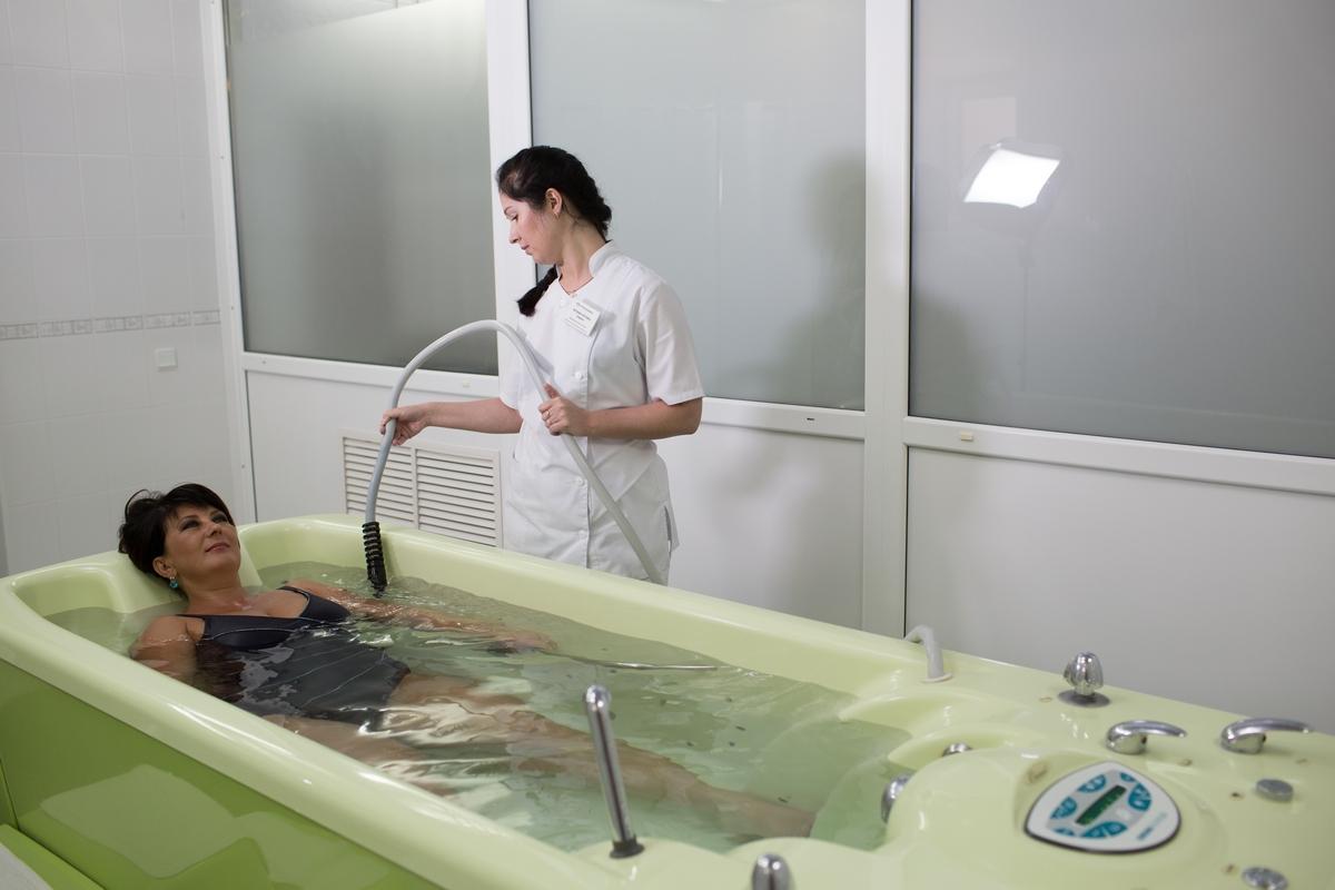 гидромассаж в санатории